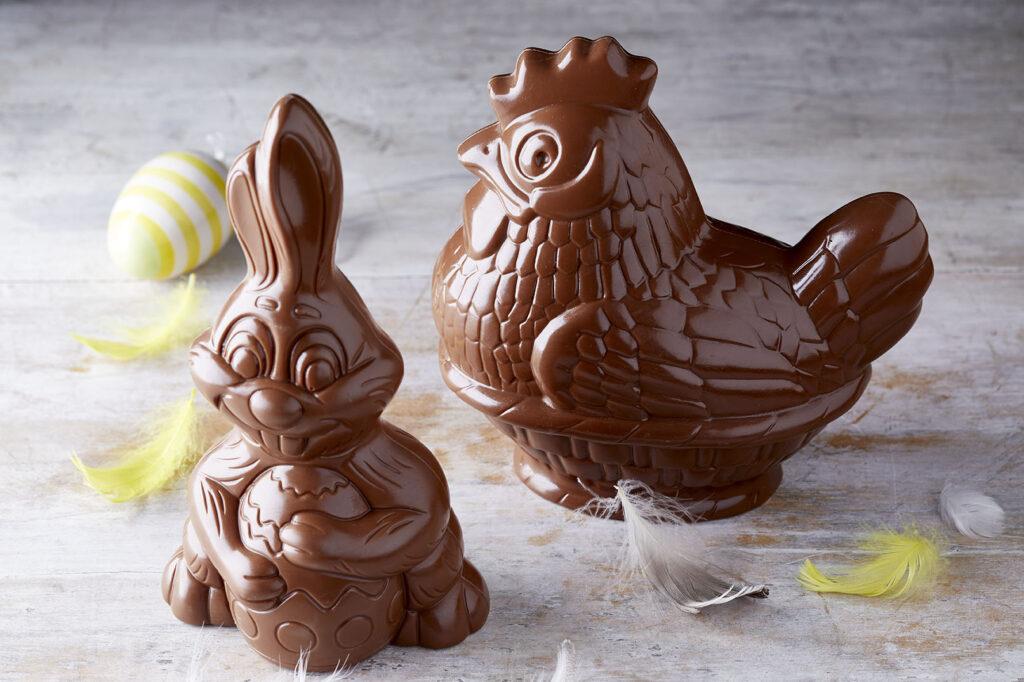 Σοκολατένιοι λαγοί & κότες