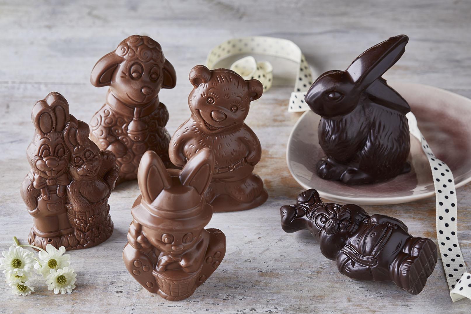 Mini σοκολατένια ζωάκια