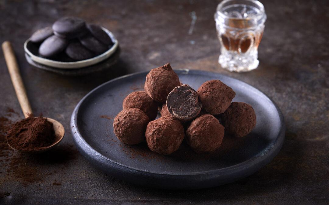 Τρούφες σοκολάτας υγείας